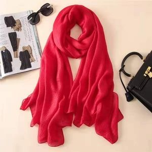 Accessories - Silk and linen scarf